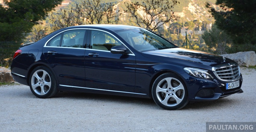 DRIVEN: W205 Mercedes-Benz C-Class in France Image #267764