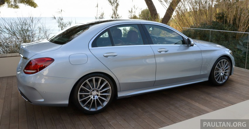 DRIVEN: W205 Mercedes-Benz C-Class in France Image #267766