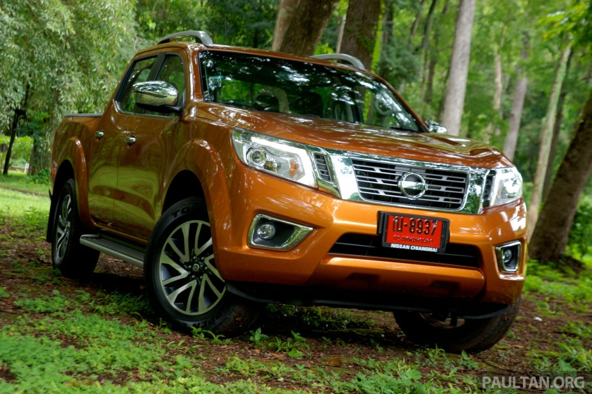 DRIVEN: 2015 Nissan NP300 Navara – 4×2 and 4×4 tested on and off the beaten track in Chiang Mai Image #261680
