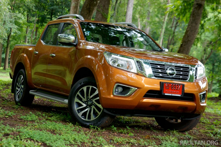 DRIVEN: 2015 Nissan NP300 Navara – 4×2 and 4×4 tested on and off the beaten track in Chiang Mai Image #261681
