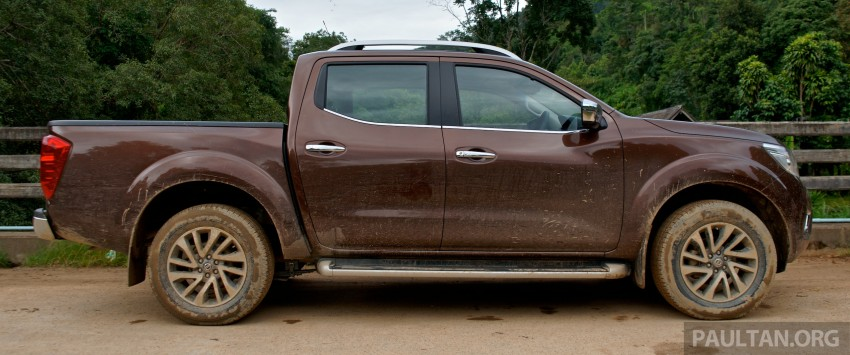 DRIVEN: 2015 Nissan NP300 Navara – 4×2 and 4×4 tested on and off the beaten track in Chiang Mai Image #261784