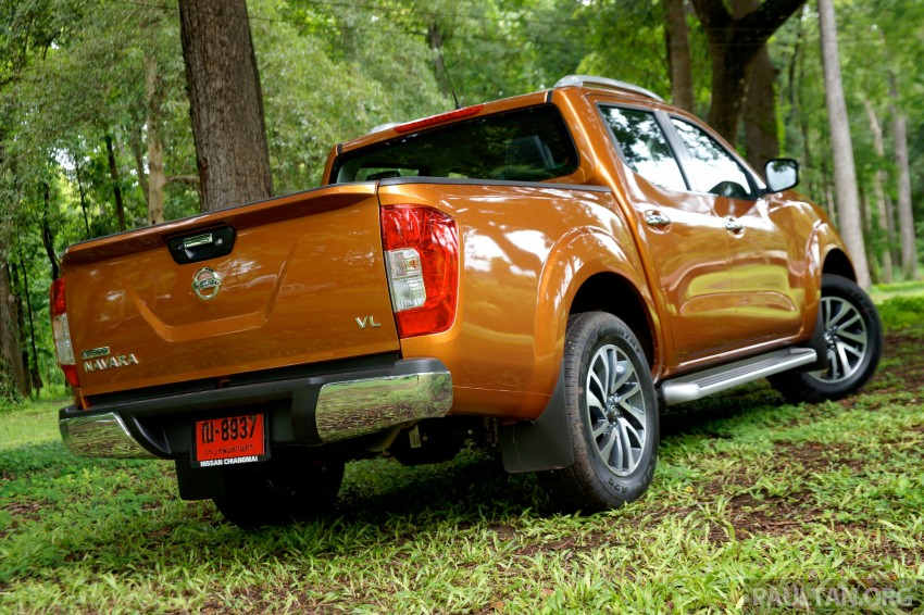 DRIVEN: 2015 Nissan NP300 Navara – 4×2 and 4×4 tested on and off the beaten track in Chiang Mai Image #261682
