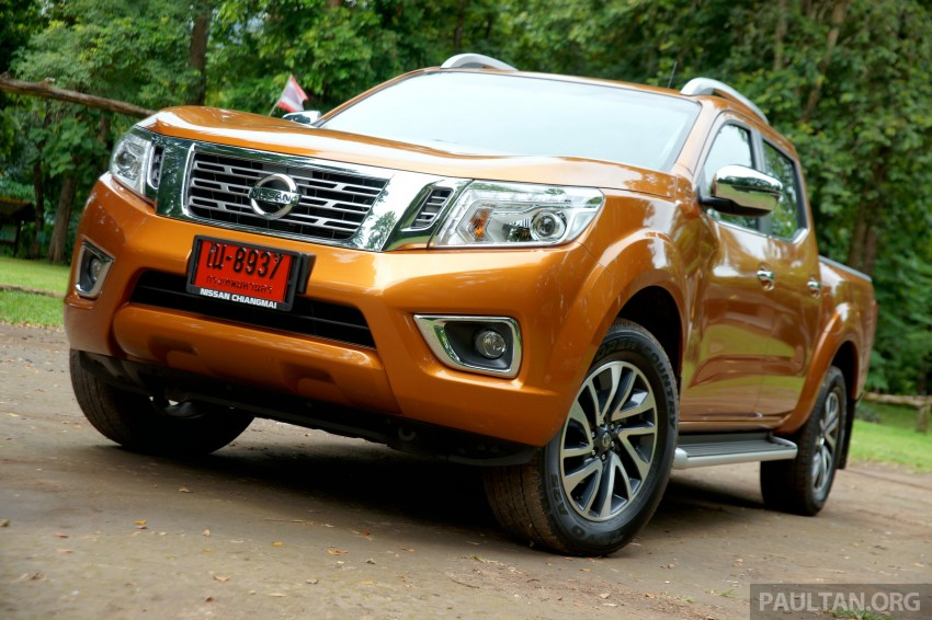 DRIVEN: 2015 Nissan NP300 Navara – 4×2 and 4×4 tested on and off the beaten track in Chiang Mai Image #261684