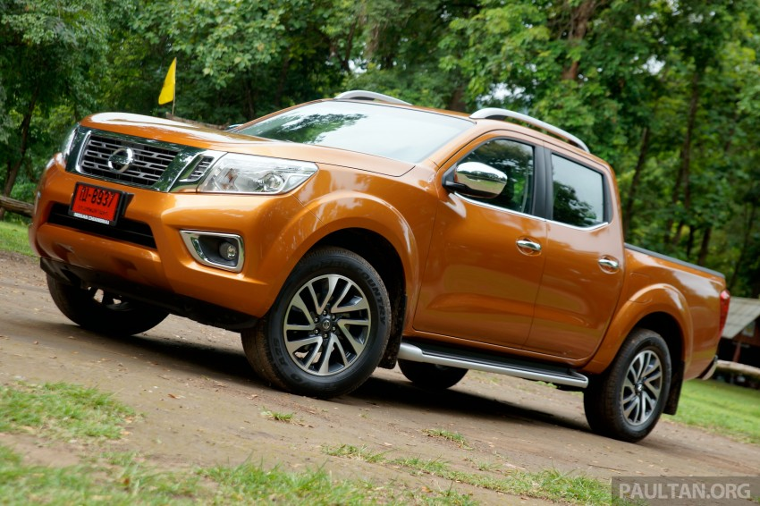 DRIVEN: 2015 Nissan NP300 Navara – 4×2 and 4×4 tested on and off the beaten track in Chiang Mai Image #261685