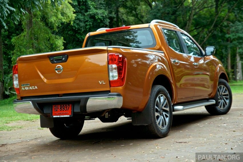 DRIVEN: 2015 Nissan NP300 Navara – 4×2 and 4×4 tested on and off the beaten track in Chiang Mai Image #261686
