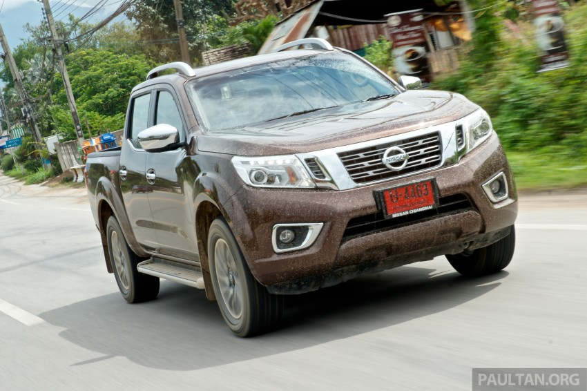 DRIVEN: 2015 Nissan NP300 Navara – 4×2 and 4×4 tested on and off the beaten track in Chiang Mai Image #261739