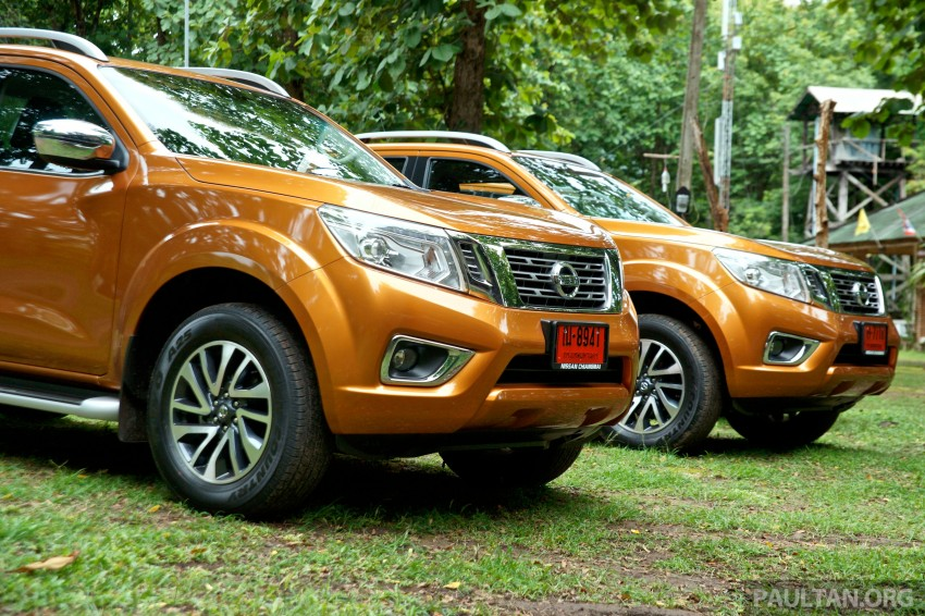DRIVEN: 2015 Nissan NP300 Navara – 4×2 and 4×4 tested on and off the beaten track in Chiang Mai Image #261677