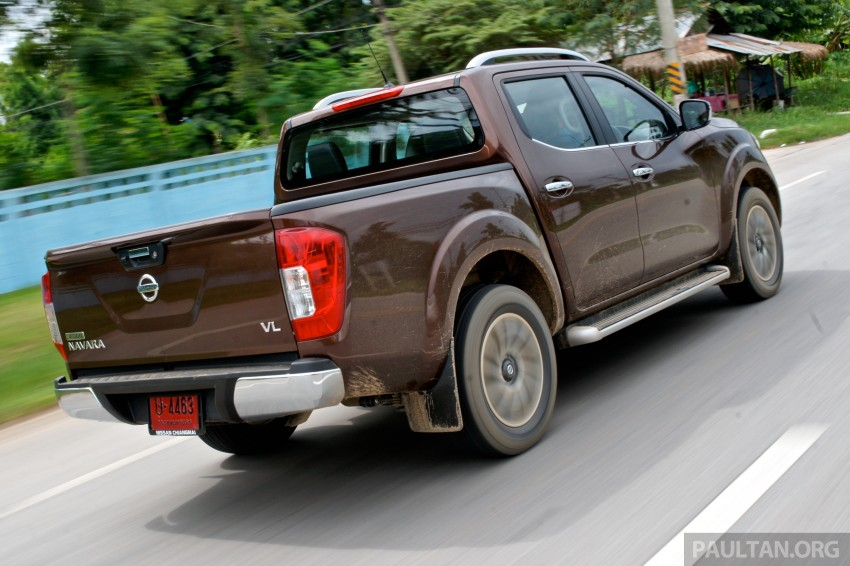 DRIVEN: 2015 Nissan NP300 Navara – 4×2 and 4×4 tested on and off the beaten track in Chiang Mai Image #261740