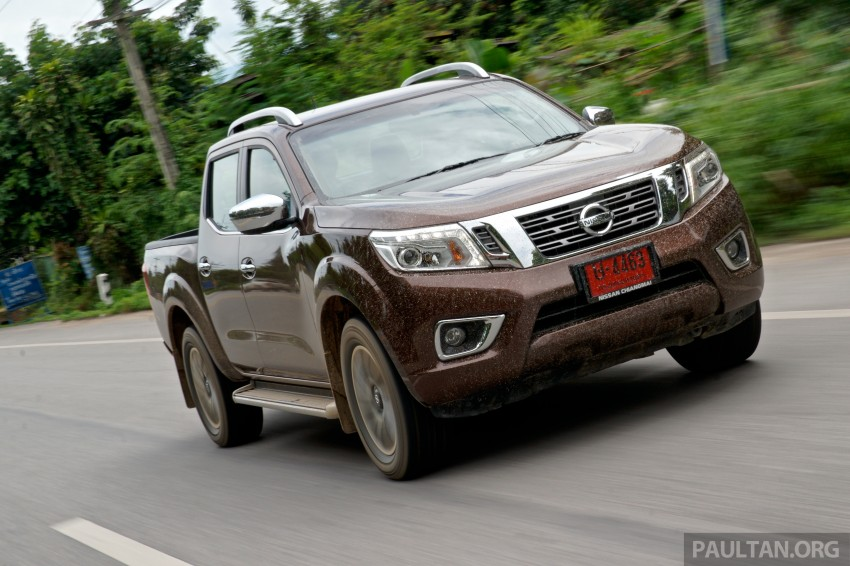 DRIVEN: 2015 Nissan NP300 Navara – 4×2 and 4×4 tested on and off the beaten track in Chiang Mai Image #261741