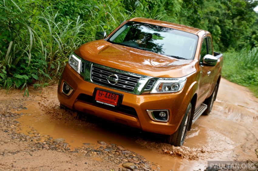 DRIVEN: 2015 Nissan NP300 Navara – 4×2 and 4×4 tested on and off the beaten track in Chiang Mai Image #261742