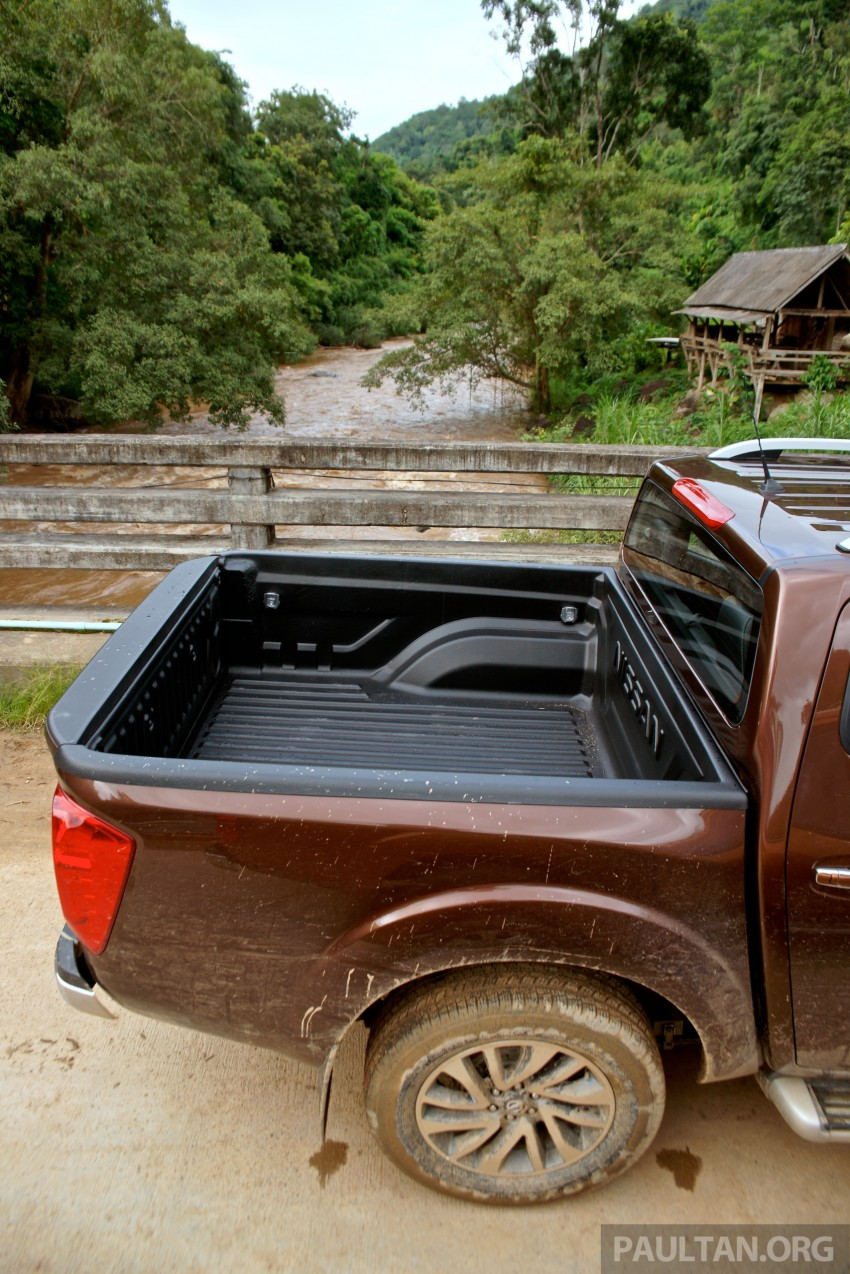 DRIVEN: 2015 Nissan NP300 Navara – 4×2 and 4×4 tested on and off the beaten track in Chiang Mai Image #261745