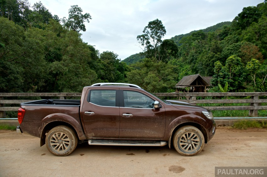 DRIVEN: 2015 Nissan NP300 Navara – 4×2 and 4×4 tested on and off the beaten track in Chiang Mai Image #261746