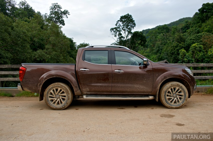 DRIVEN: 2015 Nissan NP300 Navara – 4×2 and 4×4 tested on and off the beaten track in Chiang Mai Image #261747