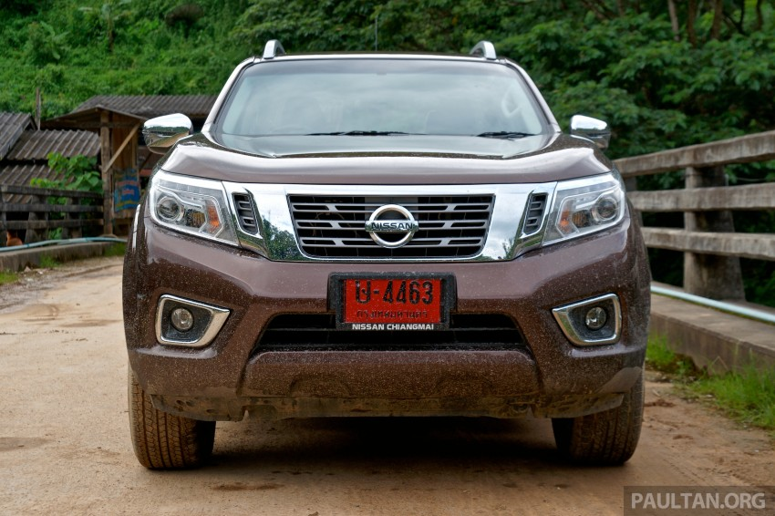 DRIVEN: 2015 Nissan NP300 Navara – 4×2 and 4×4 tested on and off the beaten track in Chiang Mai Image #261781