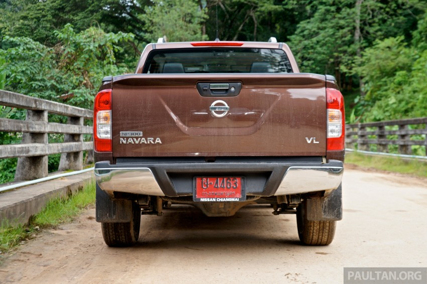 DRIVEN: 2015 Nissan NP300 Navara – 4×2 and 4×4 tested on and off the beaten track in Chiang Mai Image #261749