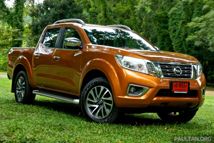 DRIVEN: 2015 Nissan NP300 Navara – 4×2 and 4×4 tested on and off the beaten track in Chiang Mai Image #261678