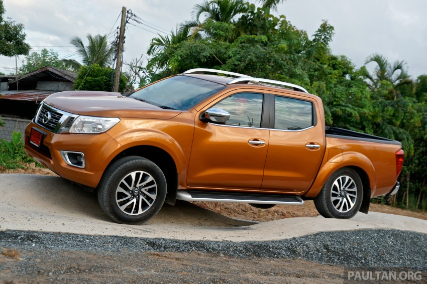 DRIVEN: 2015 Nissan NP300 Navara – 4×2 and 4×4 tested on and off the beaten track in Chiang Mai Image #261750