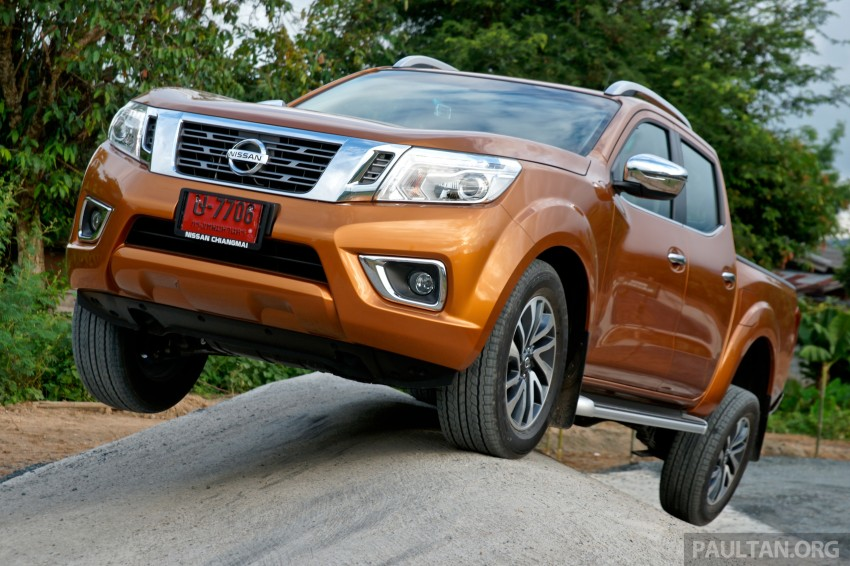 DRIVEN: 2015 Nissan NP300 Navara – 4×2 and 4×4 tested on and off the beaten track in Chiang Mai Image #261754