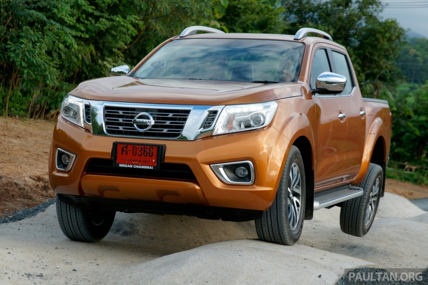 DRIVEN: 2015 Nissan NP300 Navara – 4×2 and 4×4 tested on and off the beaten track in Chiang Mai Image #261755