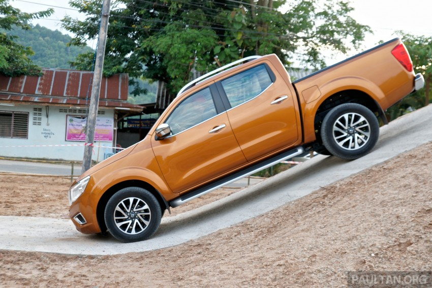 DRIVEN: 2015 Nissan NP300 Navara – 4×2 and 4×4 tested on and off the beaten track in Chiang Mai Image #261756