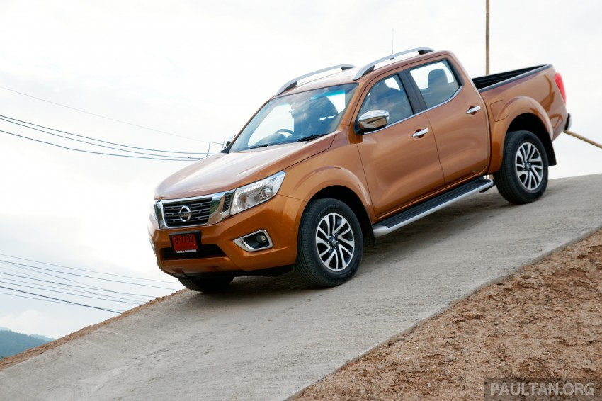 DRIVEN: 2015 Nissan NP300 Navara – 4×2 and 4×4 tested on and off the beaten track in Chiang Mai Image #261757