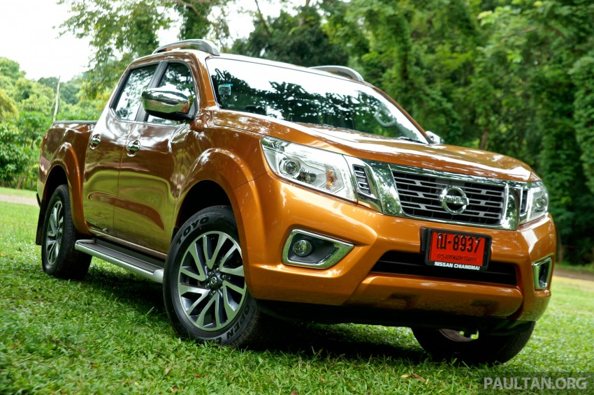 DRIVEN: 2015 Nissan NP300 Navara – 4×2 and 4×4 tested on and off the beaten track in Chiang Mai Image #261679