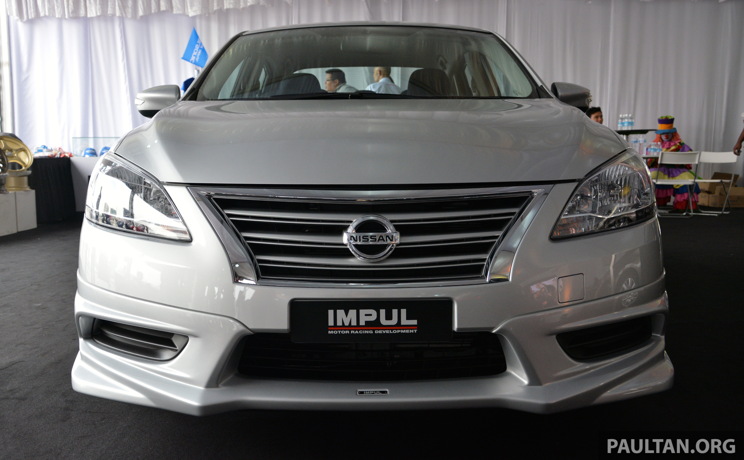 Nissan Sylphy 2018 >> Nissan Sylphy Tuned By Impul introduced – aerokit, bigger wheels and tyres, lower springs Image ...