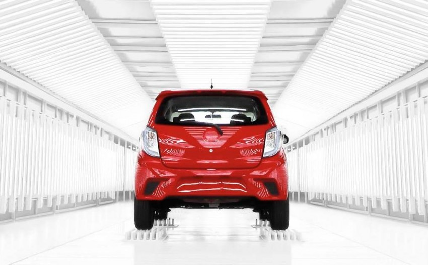 Perodua Axia – official photo of the next Viva released! Image #262838