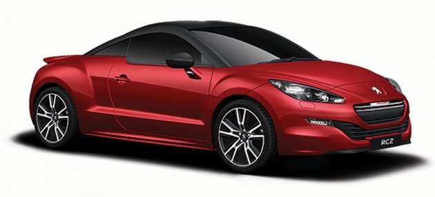 test drive a peugeot to win a peugeot rcz coupe. Black Bedroom Furniture Sets. Home Design Ideas