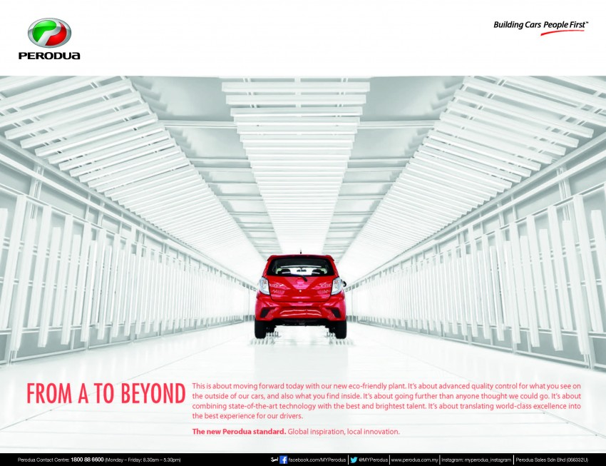 Perodua Axia open for booking, priced from RM24,900 Image #263388