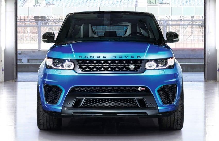 Range Rover Sport SVR – the fastest Land Rover, ever Image #262942