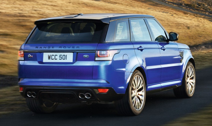 Range Rover Sport SVR – the fastest Land Rover, ever Image #262950