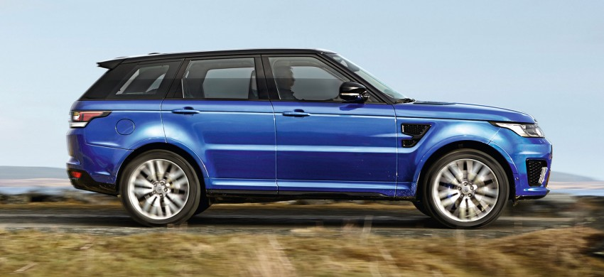 Range Rover Sport SVR – the fastest Land Rover, ever Image #262951