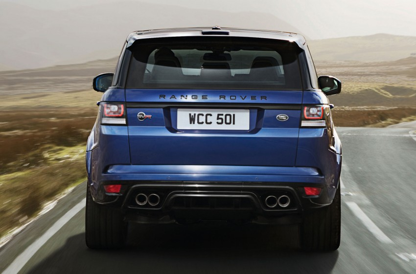 Range Rover Sport SVR – the fastest Land Rover, ever Image #262952