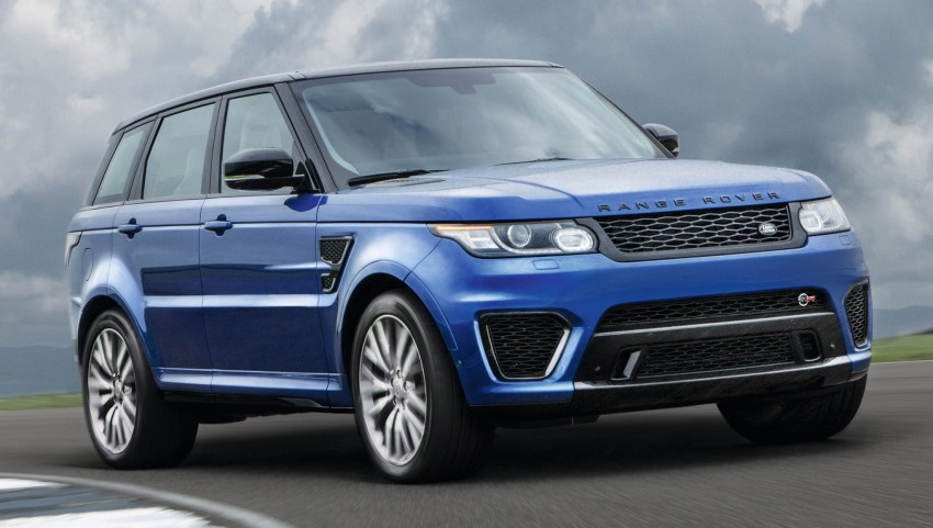 Range Rover Sport SVR – the fastest Land Rover, ever Image #262953