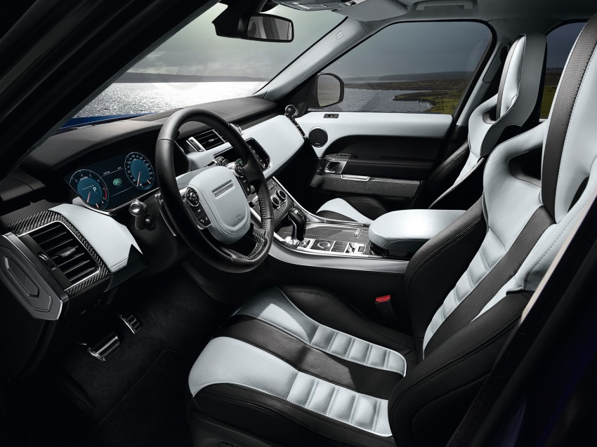 Range Rover Sport SVR – the fastest Land Rover, ever Image #262954