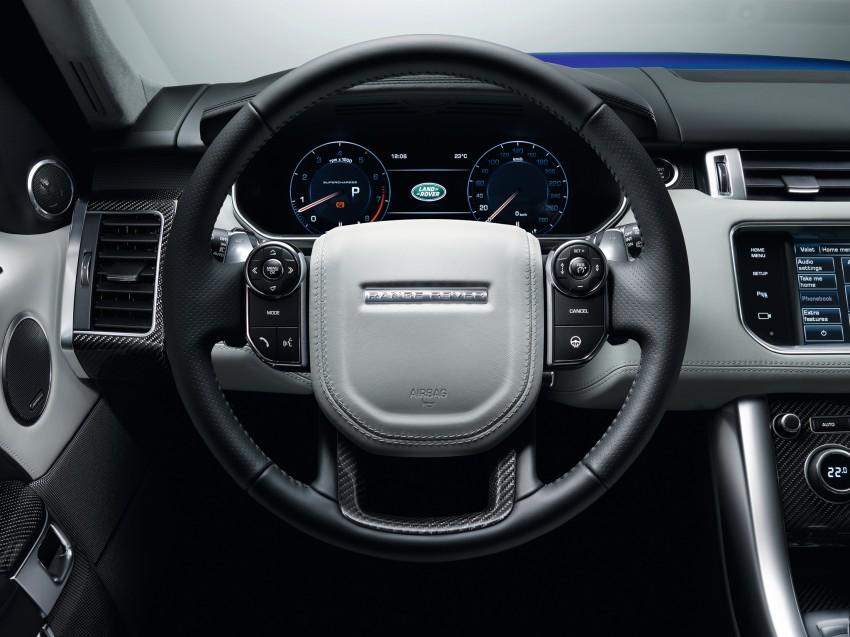 Range Rover Sport SVR – the fastest Land Rover, ever Image #262959