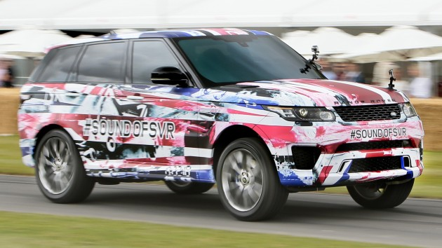 Range Rover Sport SVR Goodwood