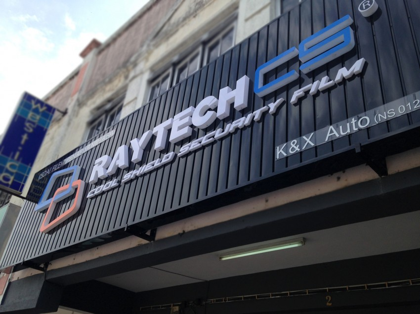 AD: Raytech, a top brand of tint film for Malaysians Image #262771
