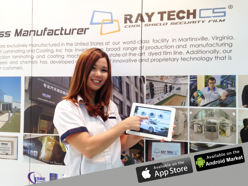 AD: Raytech, a top brand of tint film for Malaysians Image #262769