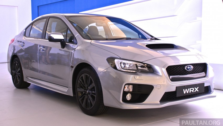 Subaru WRX and WRX STI launched – RM231k-RM271k Image #262576