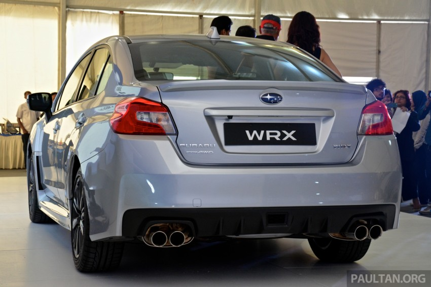 Subaru WRX and WRX STI launched – RM231k-RM271k Image #262597