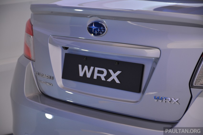 Subaru WRX and WRX STI launched – RM231k-RM271k Image #262586