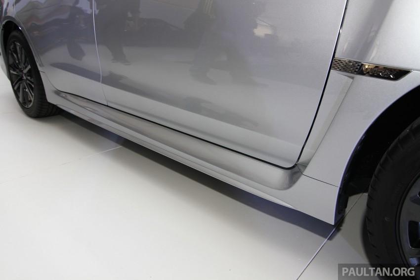 Subaru WRX and WRX STI launched – RM231k-RM271k Image #262644