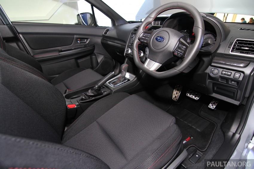 Subaru WRX and WRX STI launched – RM231k-RM271k Image #262647