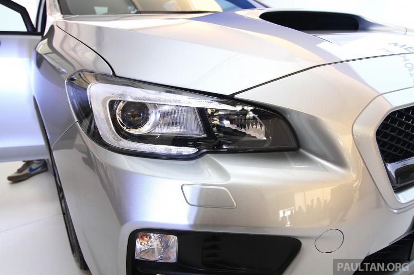 Subaru WRX and WRX STI launched – RM231k-RM271k Image #262660