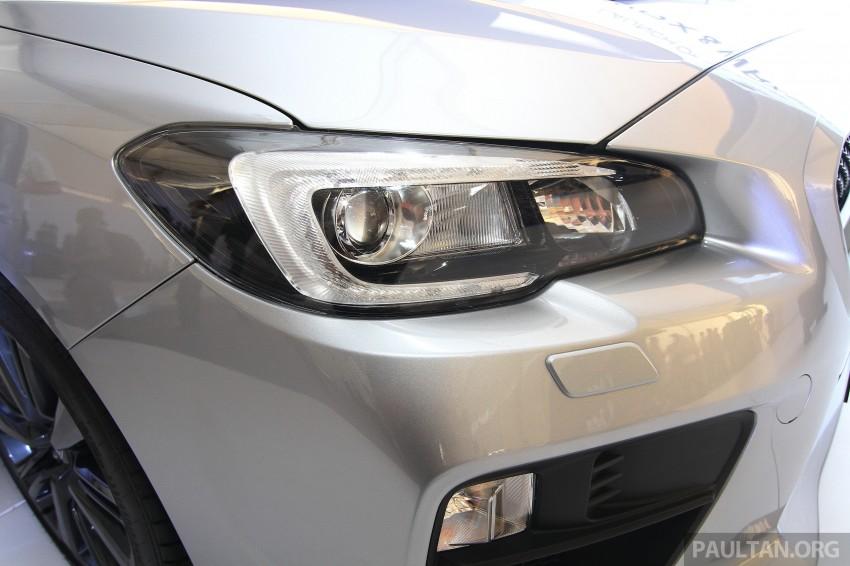 Subaru WRX and WRX STI launched – RM231k-RM271k Image #262662