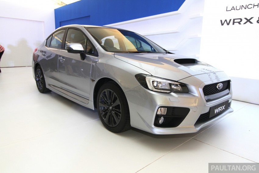 Subaru WRX and WRX STI launched – RM231k-RM271k Image #262663