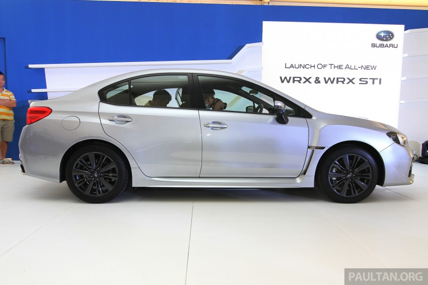 Subaru WRX and WRX STI launched – RM231k-RM271k Image #262664