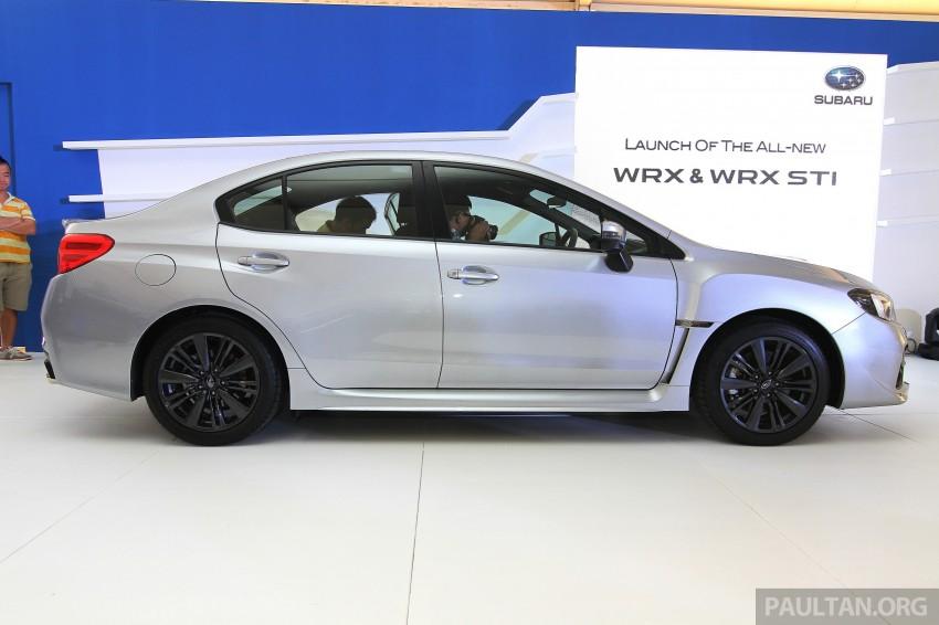 Subaru WRX and WRX STI launched – RM231k-RM271k Image #262664
